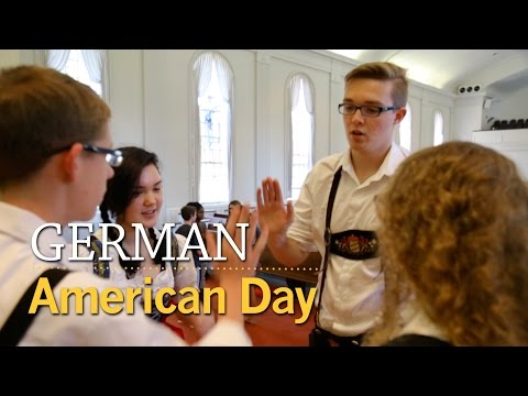 German American Day 2016 | McDaniel College