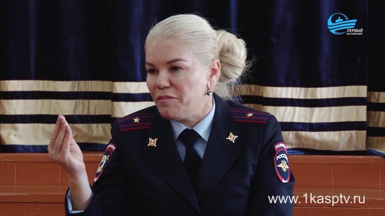 Актуальные вопросы и развернутые ответы на них - учащиеся средней школе №6 встретились со старшим инспектором ПДН Патимат Усманилаевой