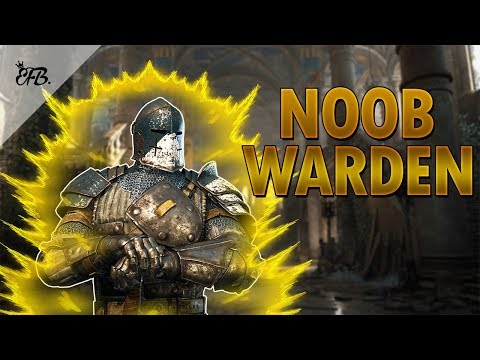 For Honor - The Noob Warden!