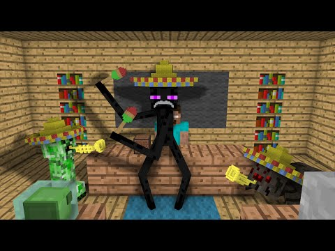 Thumbnail: Monster School: Dancing - Minecraft Animation
