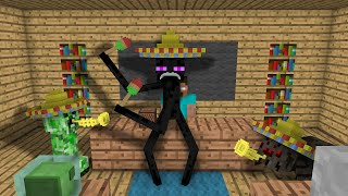 Monster School Dancing Minecraft Animation