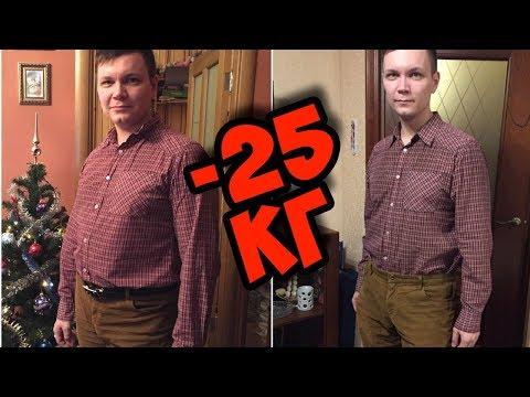 история похудения Михаила  Как похудеть на 25 кг
