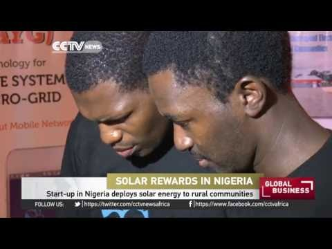Start up in Nigeria deploys solar energy to rural communities