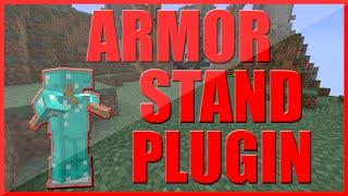 ARMOR STAND EDITOR PLUGIN | MINECRAFT ARMOR STAND GUI | MINECRAFT 1.9 - 1.10 PLUGIN REVIEW (PREMIUM)
