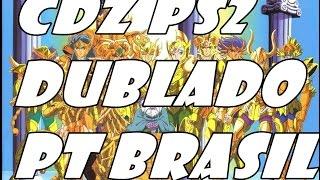 Cavaleiros do Zodiaco de ps2 dublado em português