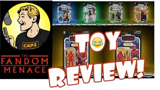 Hasbro NEW RISE OF SKYWALKER vintage wave 2 TERRIBLE TOY REVIEW!