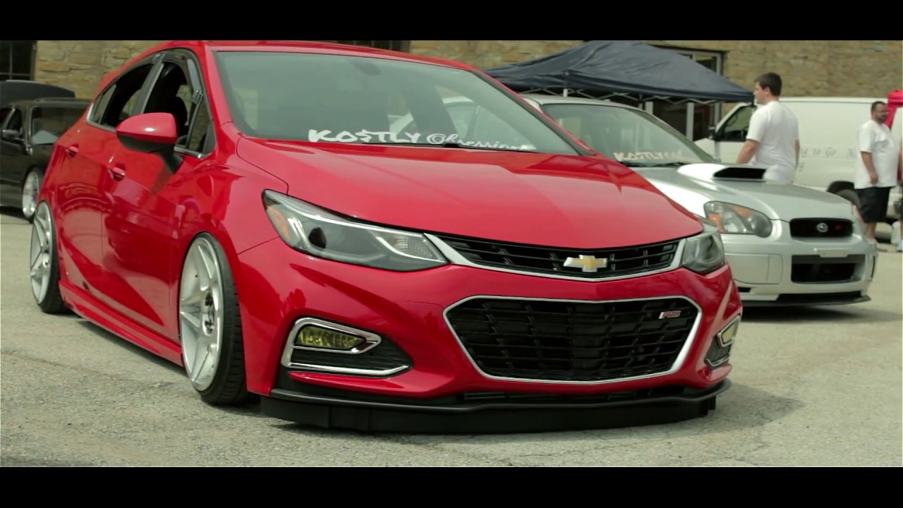 Worlds First Bagged 2017 Cruze Hatch Youtube
