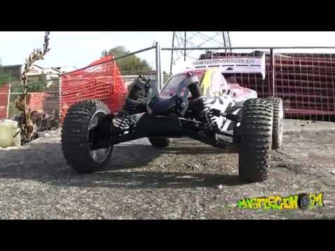 Hsp Planet Brushless Buggy 1/8 (Hobbywing s8 esc) - First run Test Drive - [Modellismo dinamico Rc]