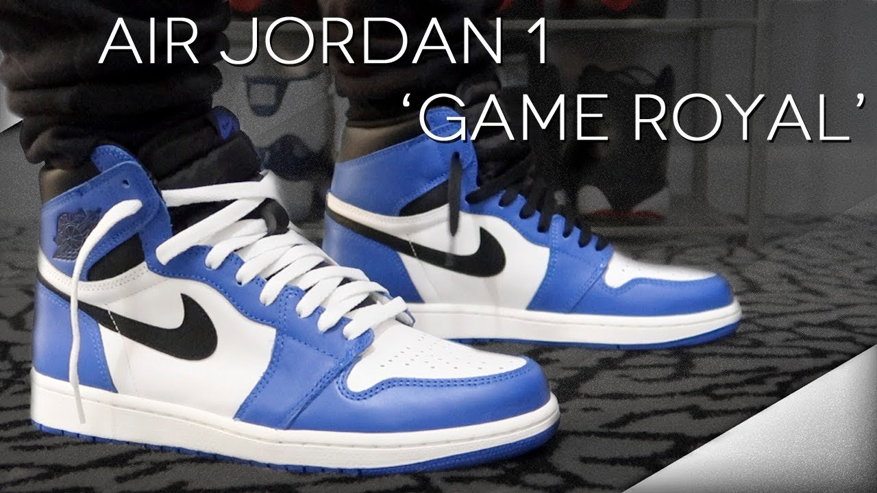 new style 60bba e87d4 MY THOUGHTS ON THE AIR JORDAN 1  GAME ROYAL