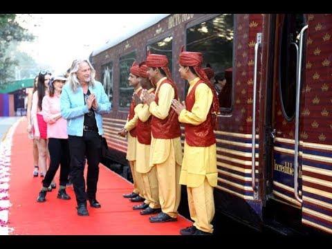 महाराजा ट्रेन का 7वां सेशन शुरु, 4 लाख की होगी  टिकट
