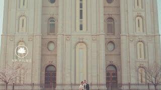 Utah Wedding Video | Salt Lake Temple | Ryanne and Austin
