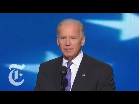 Election 2012 | Joe Biden's Full DNC Speech | The New York Times