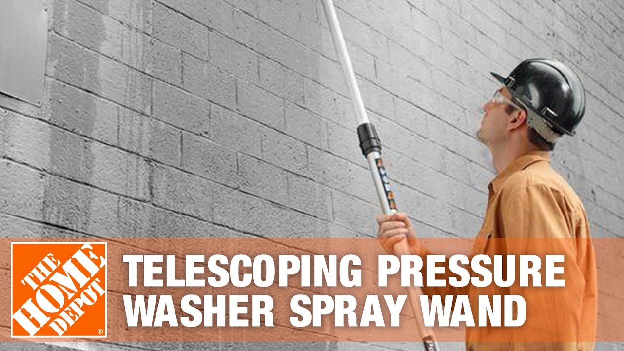 Power Care 18' Telescoping Pressure Washer Spray Wand
