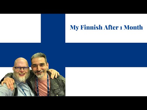 Chat In Finnish After A Month In Finland