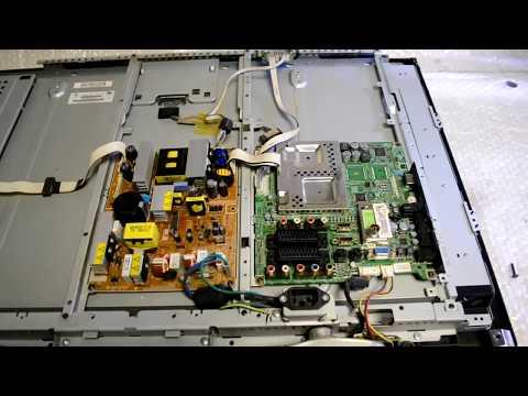 Не включается телевизор Samsung LE32R82B Сгорел блок питания BN44-00192A