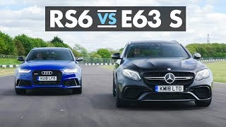 Audi Rs6 Vs Mercedes-Amg E63 S - Carfection