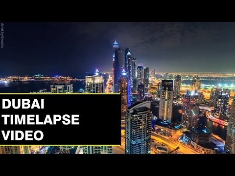 Dubai United Arab Emirates Time Lapse/Hyperlapse
