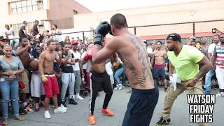 killah mike Vs lord saso #BxfightClub #RumbleInTheBronx