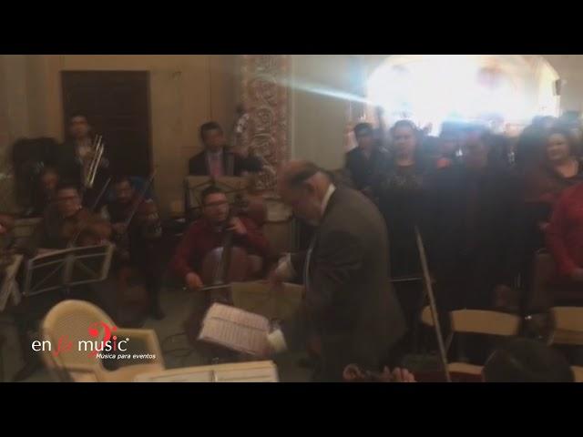 Marcha nupcial - Orquesta y coro 20 integrantes