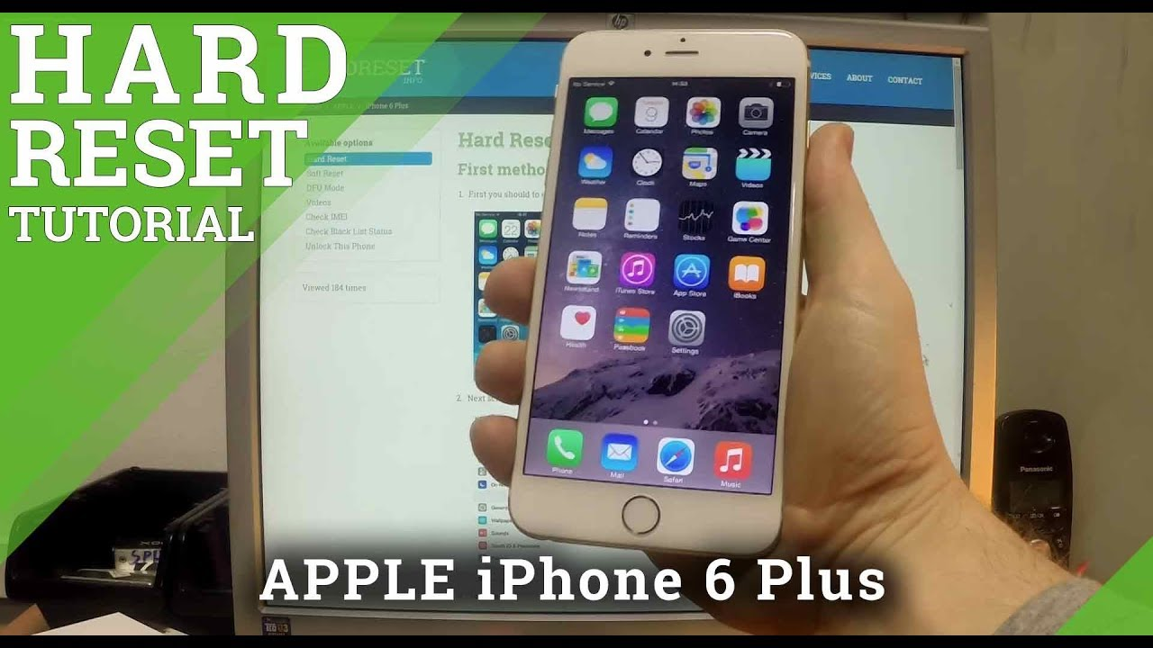 reset iphone 6 plus reset apple iphone 6 plus 16004