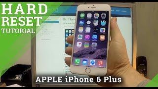 Hard Reset APPLE iPhone 6 Plus