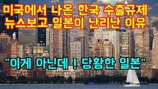"""미국에서 나온 한국 수출규제 뉴스보고 일본이 크게 놀란이유 """"이게 아닌데 ! 당황한 일본"""""""