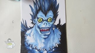 How to draw Ryuk from Death Note リューク