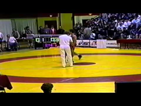 1994 Senior National Championships: 62 kg Final Marty Calder vs. Gia Sissaouri