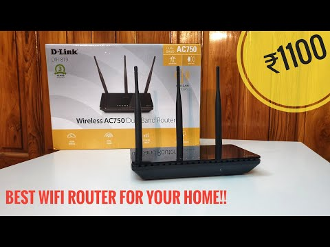 D-Link DIR-819 Dual Band Router. [Unboxing & Review].