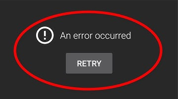 How To Fix An Error Occurred Problem On Youtube || Android Mobile