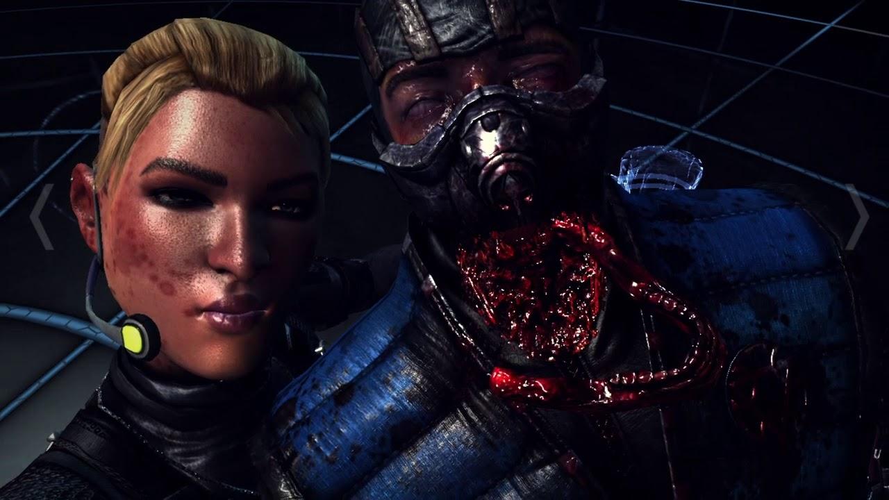 Mortal Kombat X cassie cage selfie fatality - YouTube