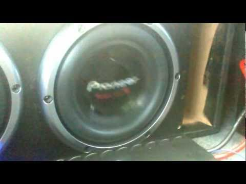 Pioneer 10inch Subwoofers!!!!  Little Woofer Big Bass!!!!