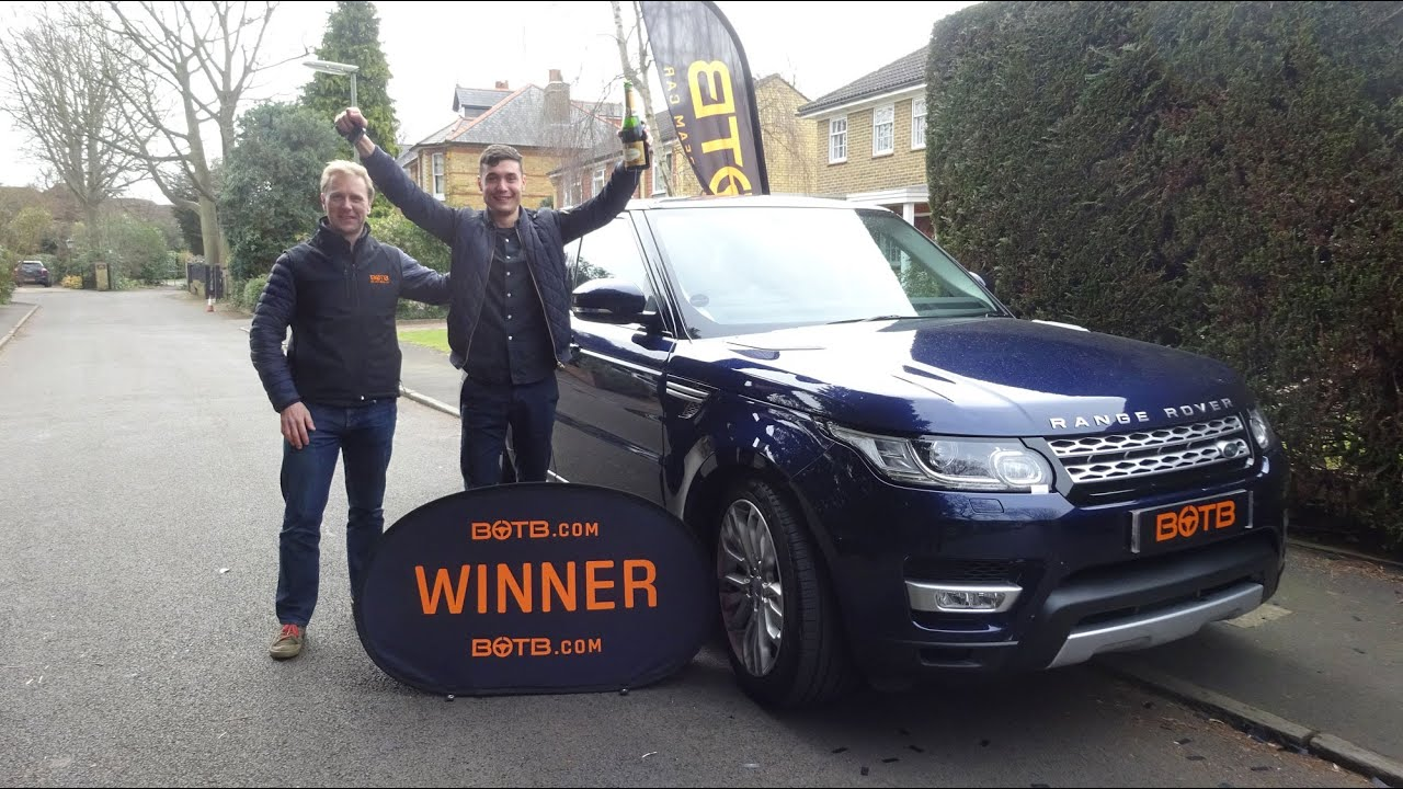 Winner Week 9 2016 Range Rover Sport