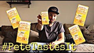 #PeteTastesIt Bumble Bee Snack On The Run! Cheesy Tuna Melt With Crackers Kit