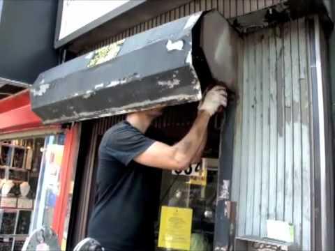 Gate Repair Nyc Roll Up Door Repair Nyc Youtube