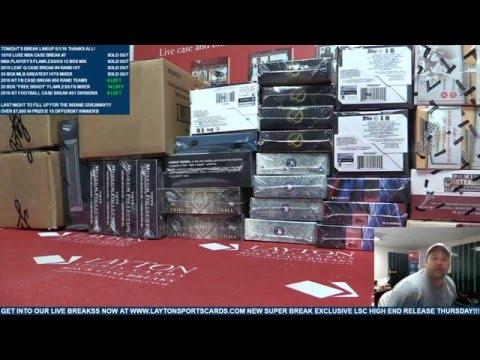 Sunday Funday MLB 35 Box Greatest Hits Baseball Mega Mixer Madness
