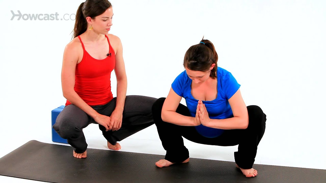 Butterfly Pose In 9Th Month Of Pregnancy