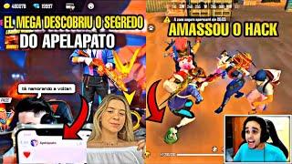 EL MEGA DESCOBRE SEGREDO DO APELAPATO E VOLTAN, ESTÃO NAMORANDO ? melhores clips free fire