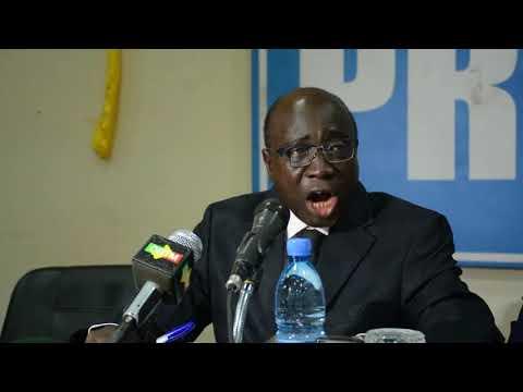 conférence de presse de l'association des procureurs du Mali à propos des agissements de RAS BATH
