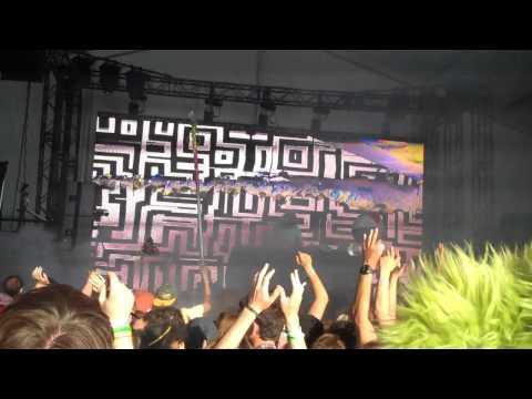 Darq E Freaker ft. Danny Brown - Blueberry (Star Slinger Remix) LIVE (The Gorge, WA) Sasquatch 2012