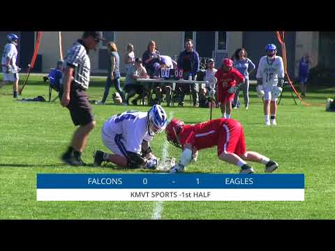 Saratoga Falcons vs Los Altos Eagles - Boys Lacrosse, April 2nd, 2018