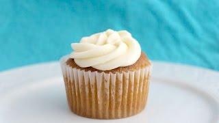 Grain Free Vanilla Coconut Flour Cupcakes