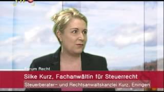 Forum Recht: Das juristische Rundumpaket der Familie: Ehevertrag und Steuer