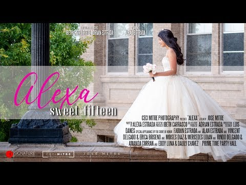 El Paso Quinceañera - El Paso High School - Prime Time Party Hall - Alexa