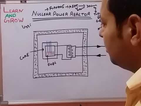 NUCLEAR POWER REACTOR (हिन्दी )!LEARN AND GROW
