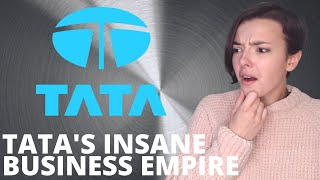 Tata's Business Empire (100 Countries) | Ratan Tata | How big is Tata? | REACTION!!! | Indi Rossi