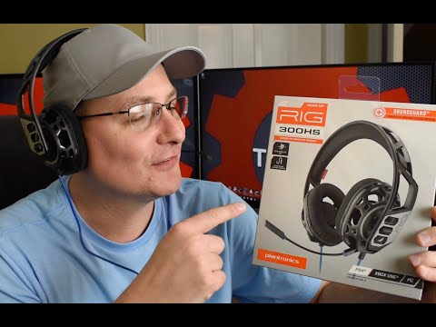 Plantronics Rig 300 Gaming Headset Review