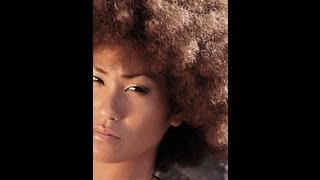 ASIAN with AFRO KINKY HAIR