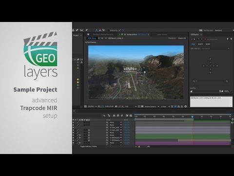 GEOlayers Tutorial: 04 Advanced Trapcode MIR Setup - ViYoutube