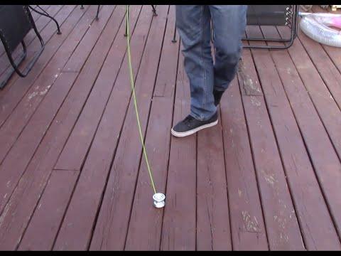 Walk The Dog 2.0  New Yo-yo Trick.  Aka Horizontal Walk The Dog.